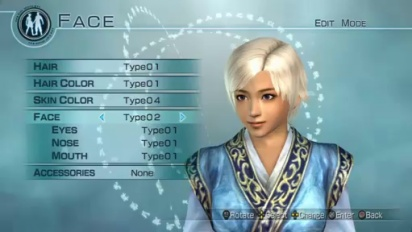Dynasty Warriors 6: Empires - Edit Mode: Female Gameplay