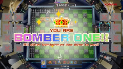 Super Bomberman R Online - Stadia Release Date Trailer