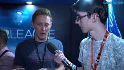 Laser League - Intervista a Simon Bennett