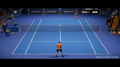 Tennis World Tour - Developer Diary Capturing Tennis