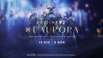 Destiny 2: Oltre la Luce - Trailer dell'Aurora (italiano)