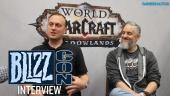 World of Warcraft: Shadowlands - Intervista a Ion Hazzikostas & Steve Aguilar