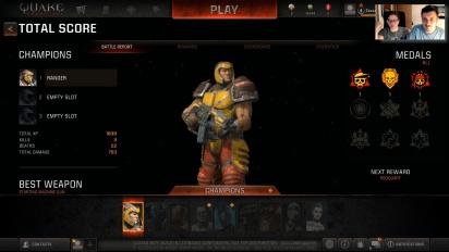 GR Italia Live: Quake Champions beta - Replica Livestream (Parte 2)