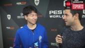 PES League Berlin - Intervista al campione Naoki 'Sofia' Sugimura