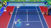 Mario Tennis Aces - Online Gameplay Peach vs. Spike