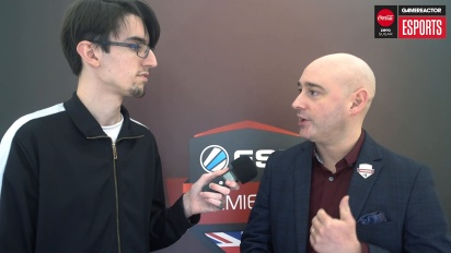 ESL UK Premiership Finals - Matt Andrews Interview