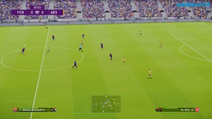 eFootball PES 2020 - FC Barcelona vs. Arsenal Gameplay