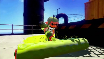 Splatoon - E3 2014 Announcement Trailer