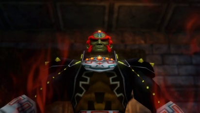 Hyrule Warriors - Ganondorf playable character