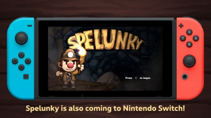 Spelunky 1+2 - Nintendo Switch Announcement