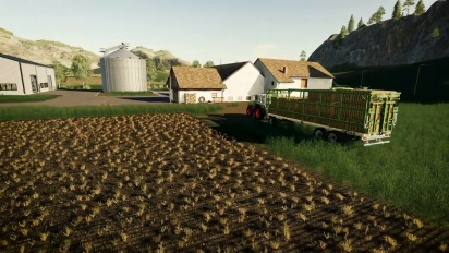 Farming Simulator 19: Straw Harvest - Trailer di lancio