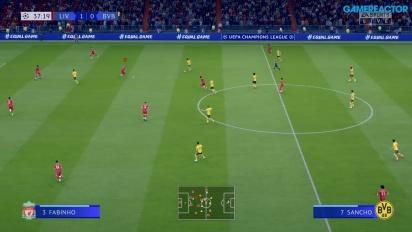 FIFA 20 - Liverpool vs. Dortmund Gameplay