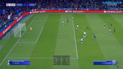 FIFA 20 - PSG vs. Tottenham Gameplay