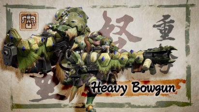 Monster Hunter Rise - Heavy Bowgun