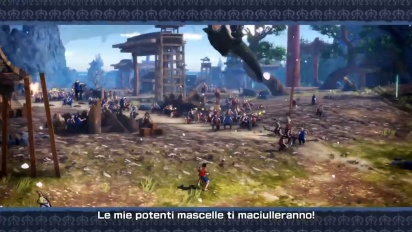 One Piece: Pirate Warriors 4 - Wano Country TGS Trailer (italiano)