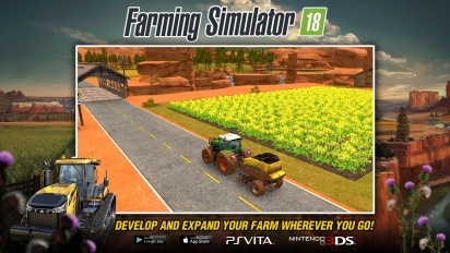 Farming Simulator 18 - Gameplay trailer PS Vita and Nintendo 3DS