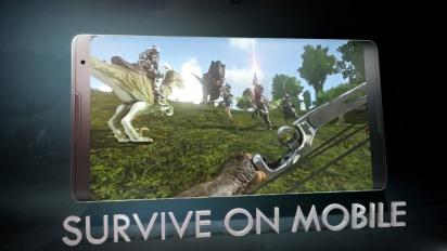 ARK: Survival Evolved - Mobile version Trailer