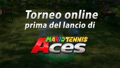Mario Tennis Aces - Trailer del torneo online (italiano)