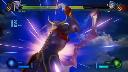 Marvel vs. Capcom: Infinite - Exhibition Match Featuring Jedah and Gamora