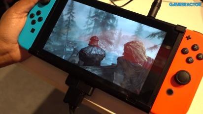 The Elder Scrolls V: Skyrim - Il gameplay su Switch