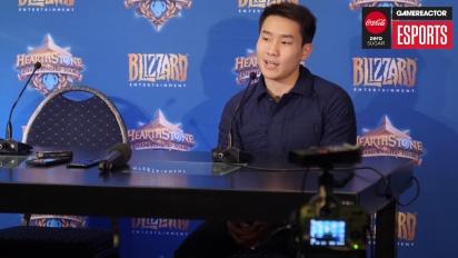 Hearthstone World Championship 2018 - Conferenza stampa di Fr0zen 2