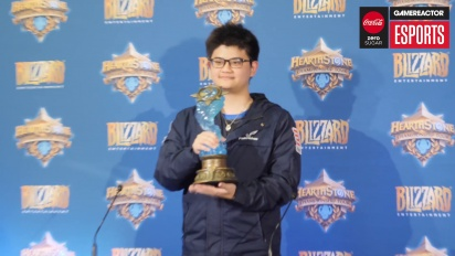 Hearthstone World Championship 2018 - Conferenza stampa del Campione del Mondo World tom60229