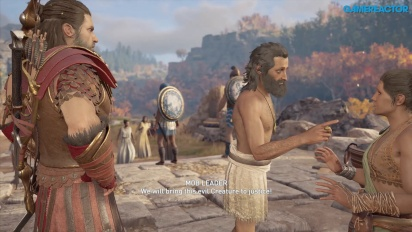 Assassin's Creed Odyssey - Gameplay di Lesbo Parte 2