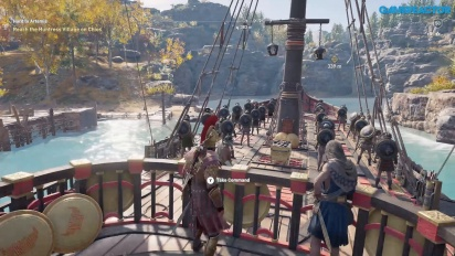 Assassin's Creed Odyssey - Gameplay di Lesbo Parte 1