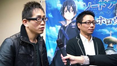 Sword Art Online: Hollow Realization - Intervista a Yosuke Futami & Hiroshi Hirayae