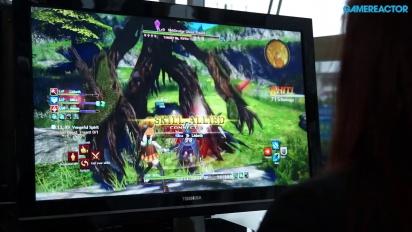 Sword Art Online: Hollow Realization - Gameplay al Jump Festa