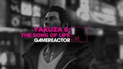 Yakuza 6: The Song of Life - Replica Livestream
