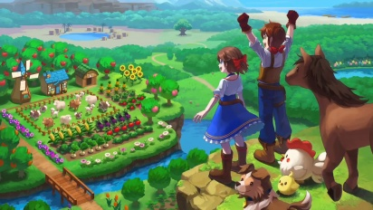Harvest Moon: One World - Debut Trailer