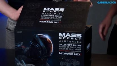 Mass Effect: Andromeda - L'Unboxing della Collector's Edition