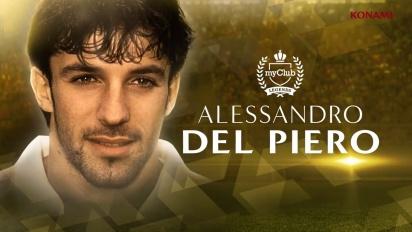 PES 2018 - Del Piero and Nedved Legends Trailer