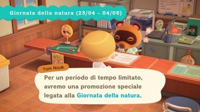 Animal Crossing: New Horizons - Aggiornamento gratuito 23 aprile 2020 (italiano)