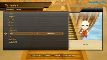 Dragon Ball FighterZ - Esplorando l'Hub