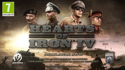 Hearts of Iron IV - Take Action Launch Trailer
