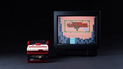 The Legend of Zelda - Original NES Game running on Family Computer Disk System - Disk Writer