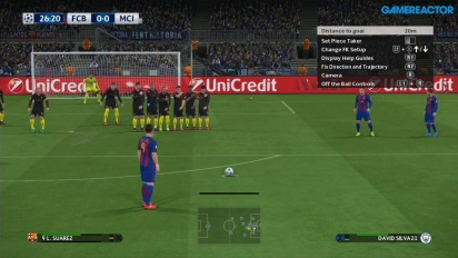 Pro Evolution Soccer 2017 - FC Barcelona vs Manchester City Champions League Eve Gameplay