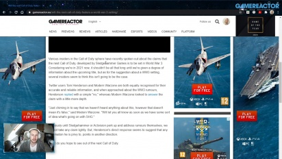 GRTV News - Will the next Call of Duty feature a World War 3 setting?