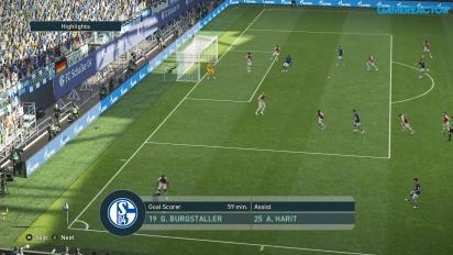 Pro Evolution Soccer 2019 - Match completo Schalke 04 vs Monaco HD Gameplay