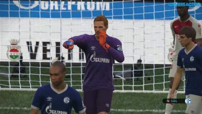 Pro Evolution Soccer 2019 - Match completo Schalke 04 vs Monaco 4K Gameplay