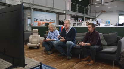 The Grand Tour Game - Clarkson, May and Hammond Racing