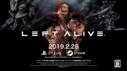 Left Alive - Trailer di lancio