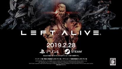 Left Alive - Trailer di lancio