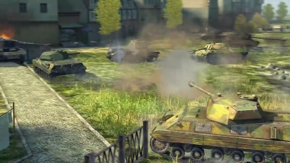 World of Tanks Blitz: Albero tecnologico europeo Trailer