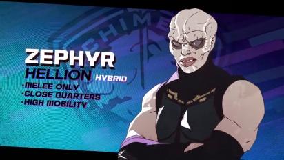 XCOM: Chimera Squad - Agent Profiles: Zephyr
