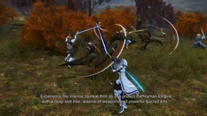 Sword Art Online: Alicization Lycoris - Battle Gameplay Trailer