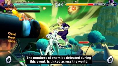 Dragon Ball FighterZ - Party Battle Trailer