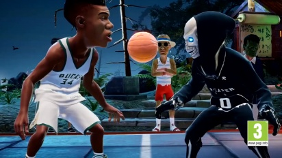 NBA 2K Playgrounds 2 - Buon Halloween Trailer